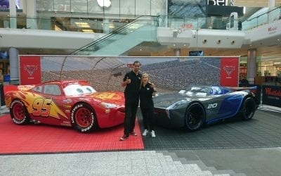 Disney Cars Launch At Westfield Shopping Centre
