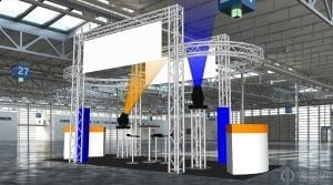 The BPM Show stand